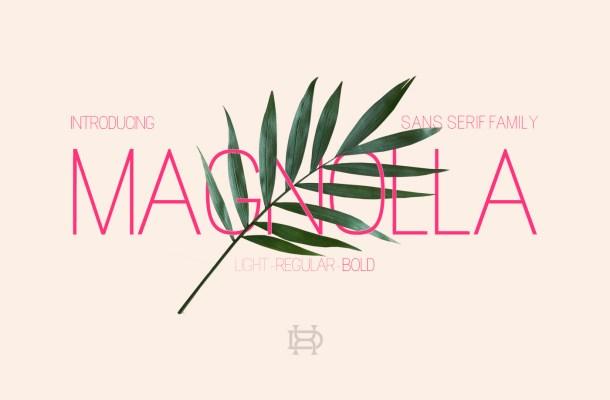 Magnolla Family Font