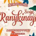 Ranykinaya Font