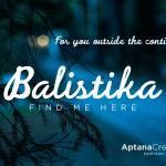 Balistika Font