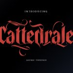 Cattedrale Gothic Blackletter Font