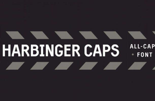 Harbinger Caps Font