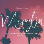 Maryline Signature Font