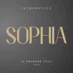 Shopia Sans Serif Font