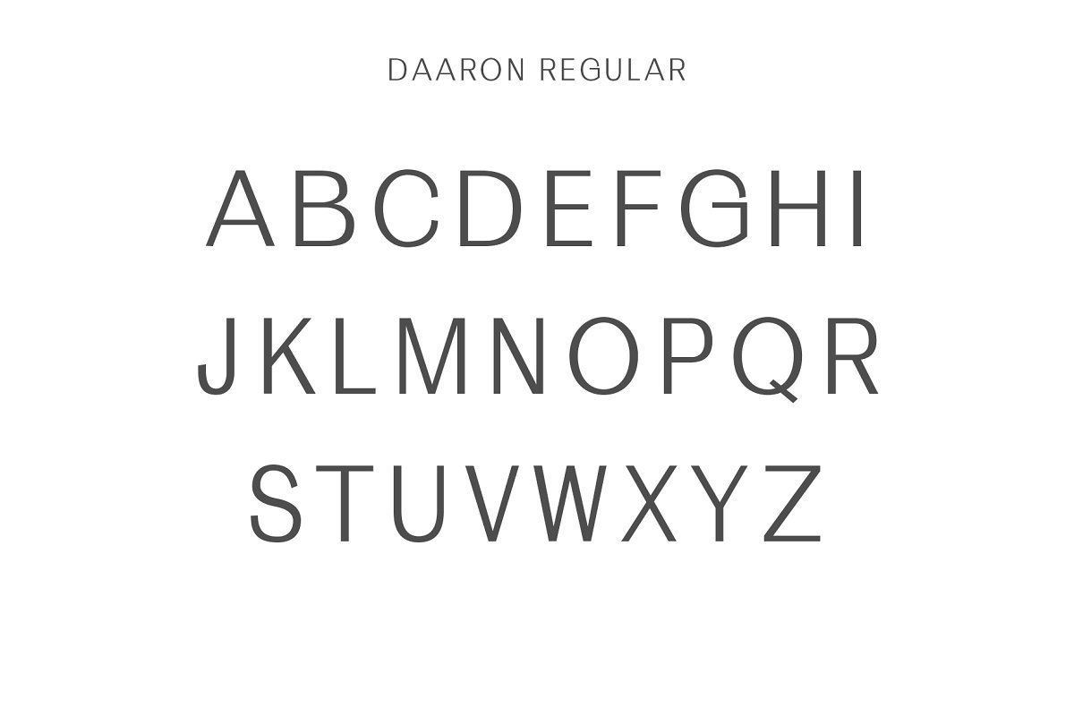 Daaron-Font-Family-3