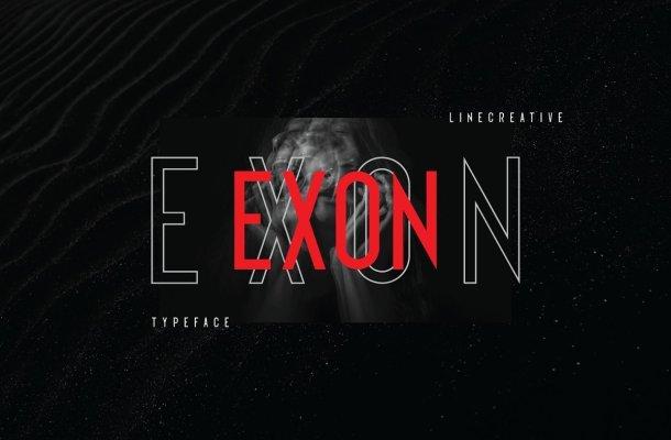 Exon Typeface