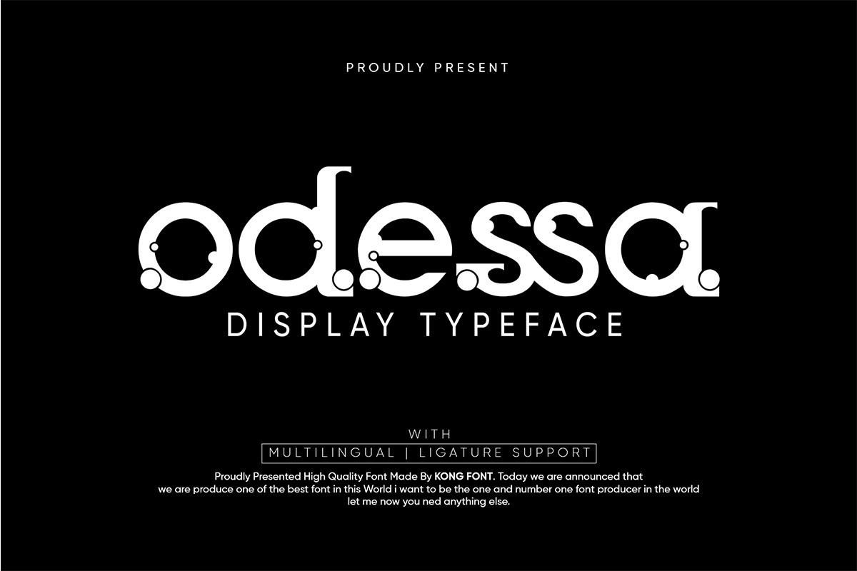 Odessa-Font