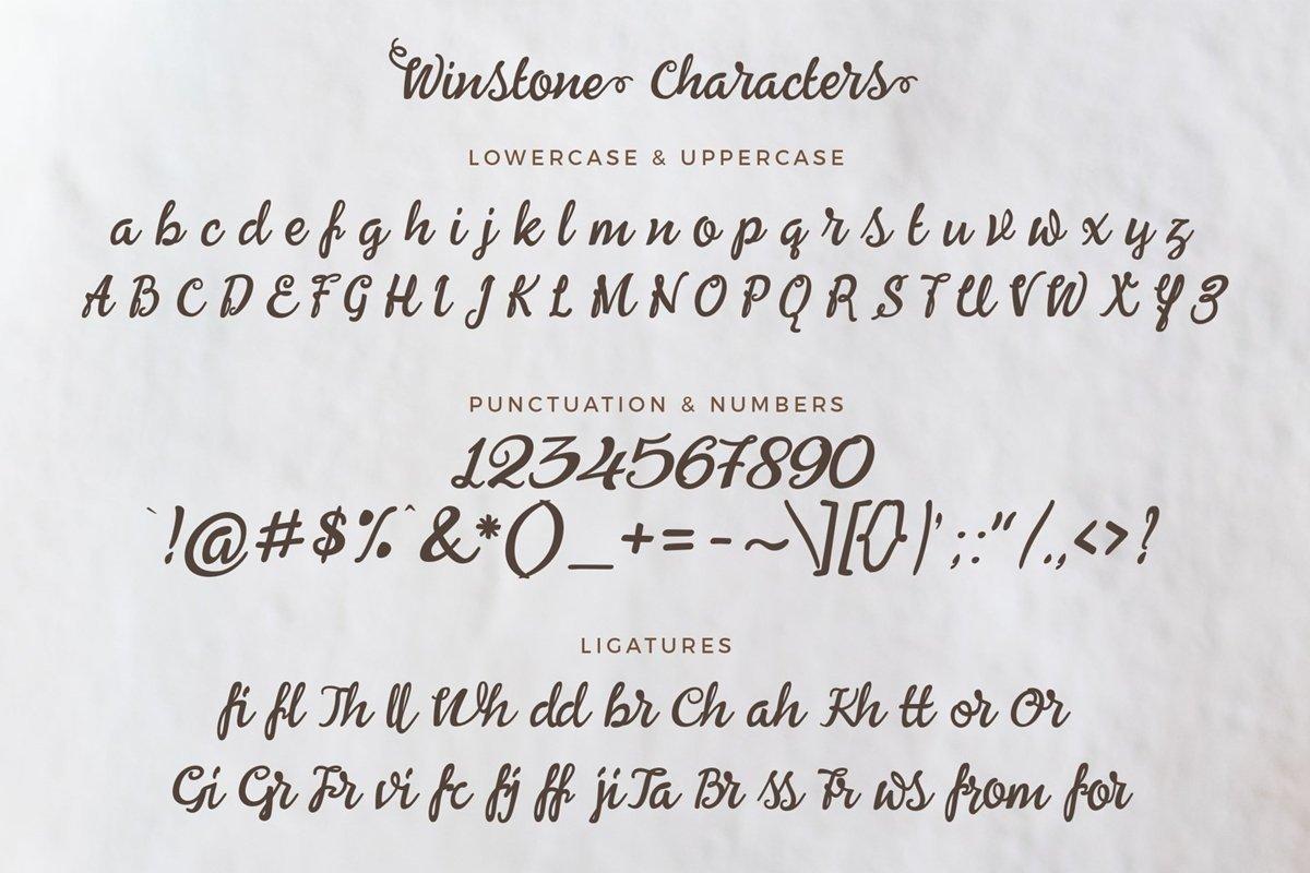 Winstone-Font-3