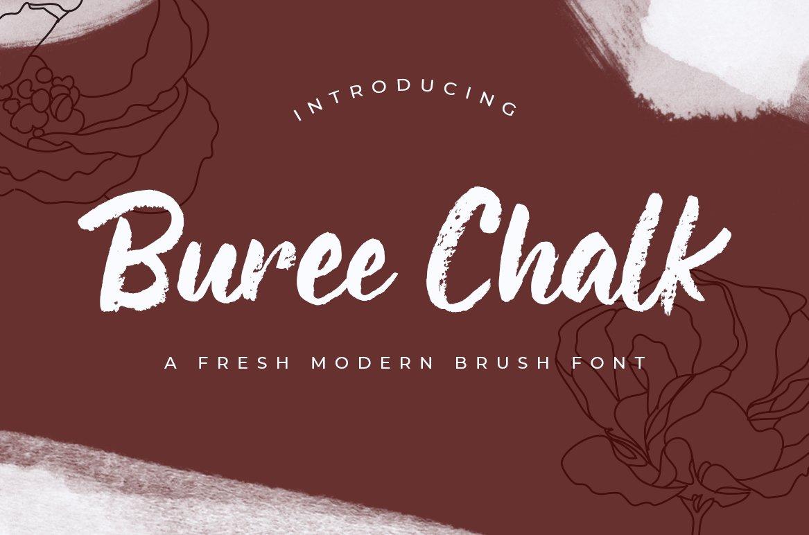 Buree-Chalk-Font