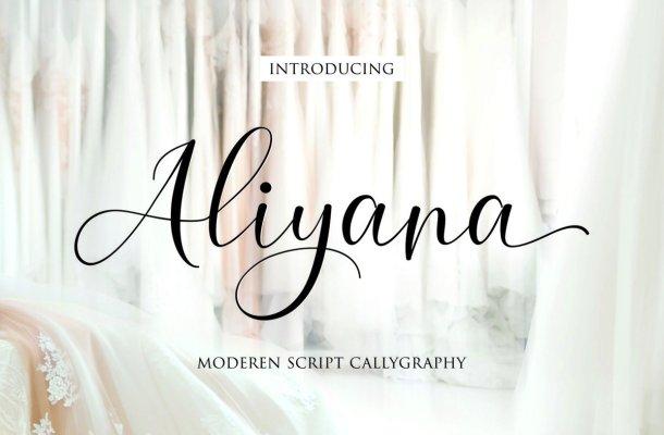 Aliyana Font
