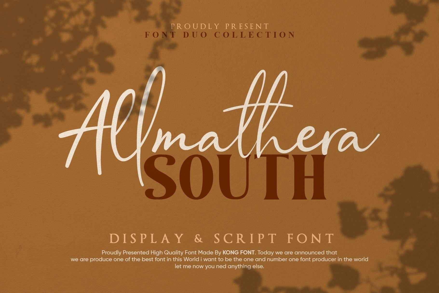 Allmathera-South-Font-Duo