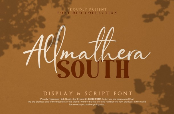Allmathera South Font Duo