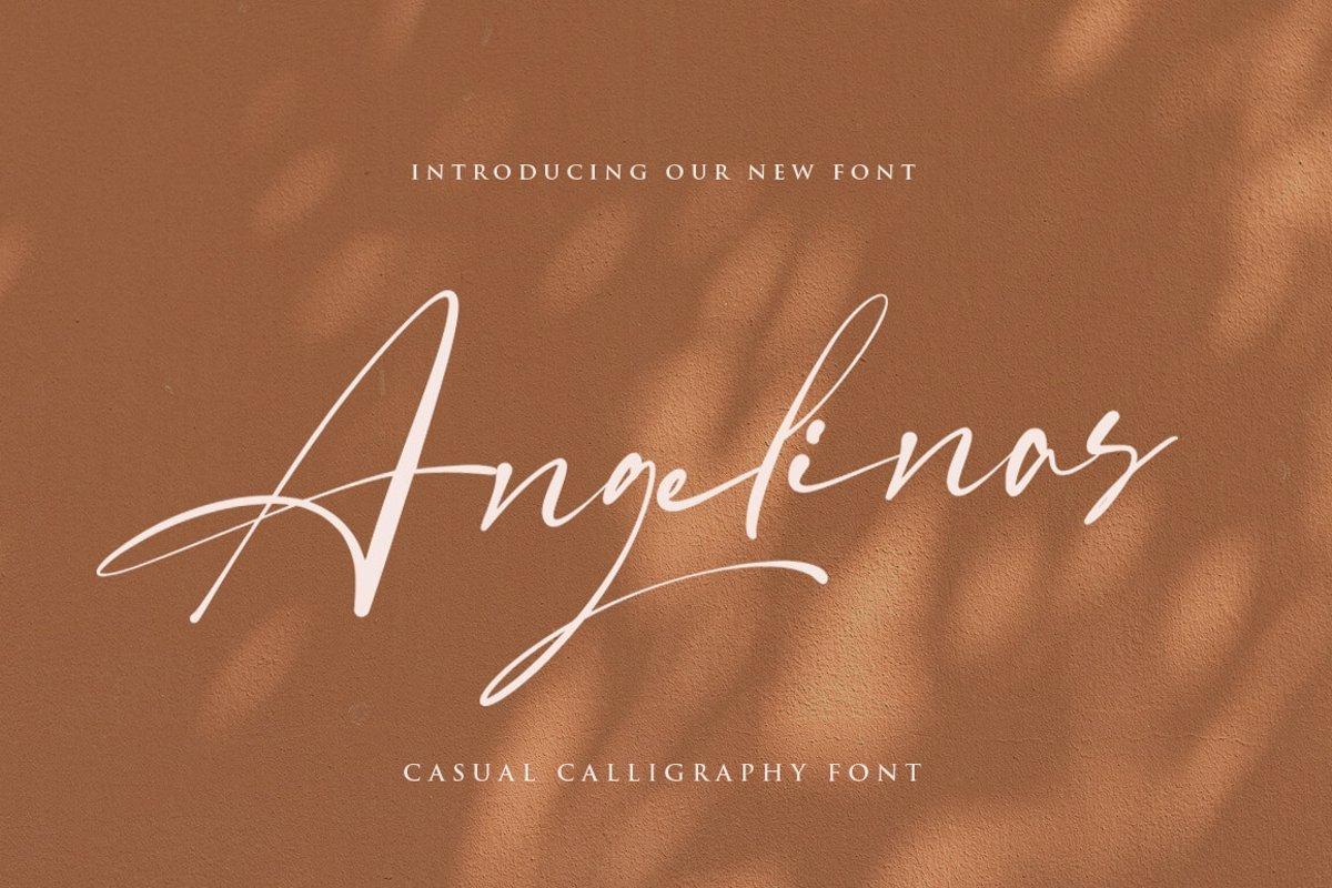 Angelinas-Font