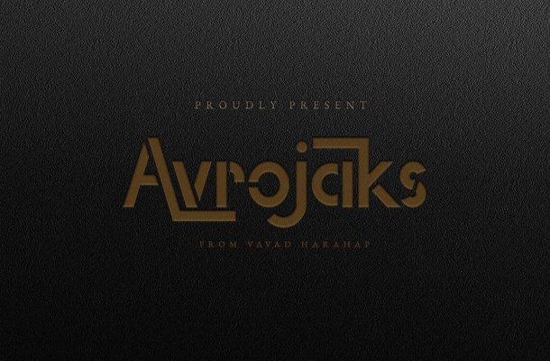 Avrojaks Font