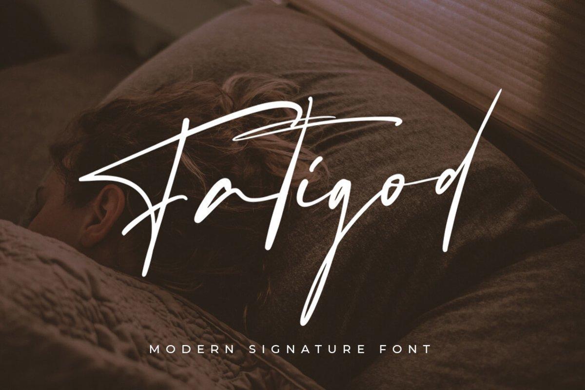 Fatigod-Font