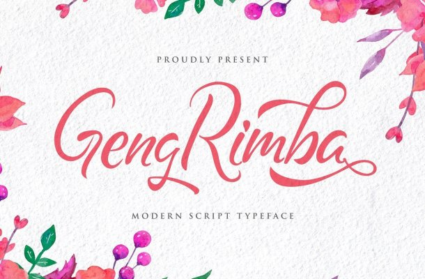 Geng Rimba Font