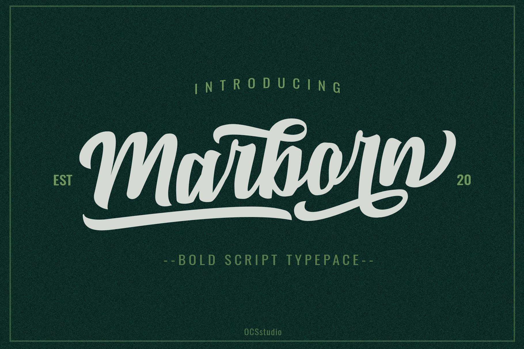 Marborn-Typeface