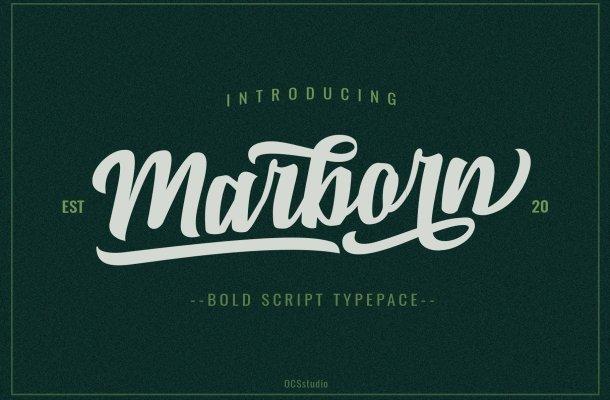 Marborn Typeface