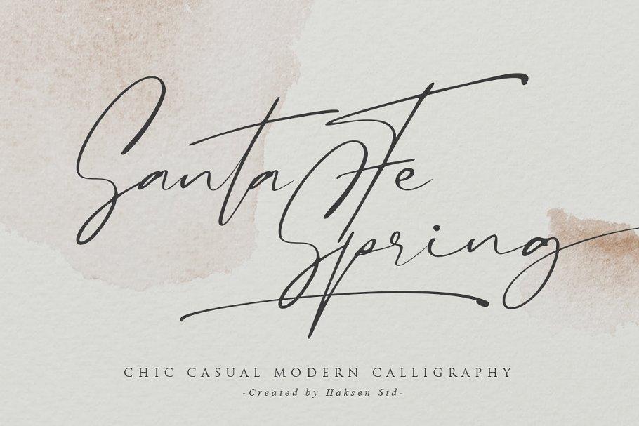 Santa-Fe-Spring-Font