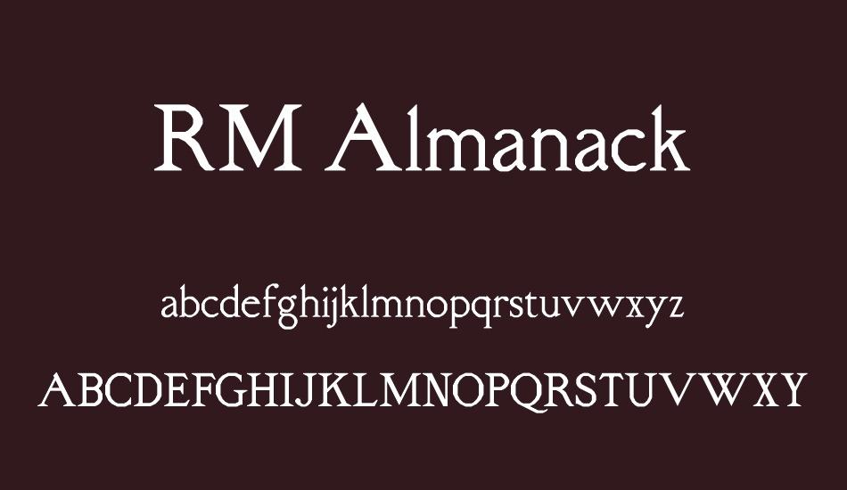 rm-almanack-font-4