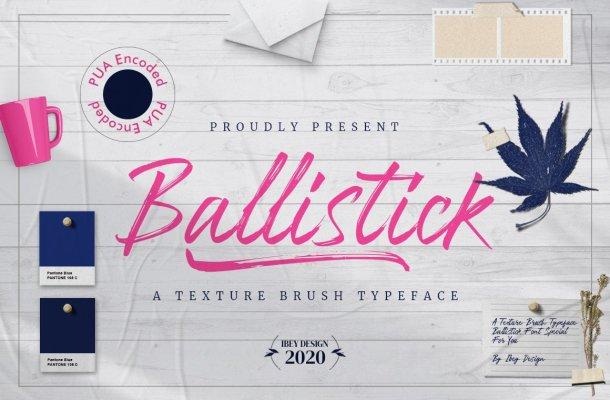 Ballistick-Font