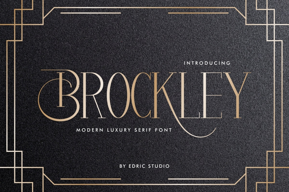 Brockley-Font