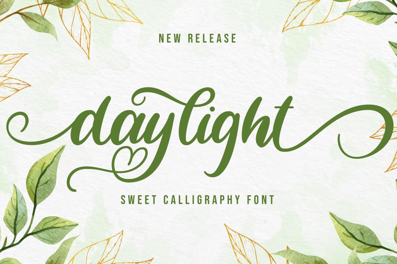 Daylight-Sweet-Font