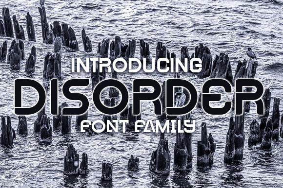 Disorder Font