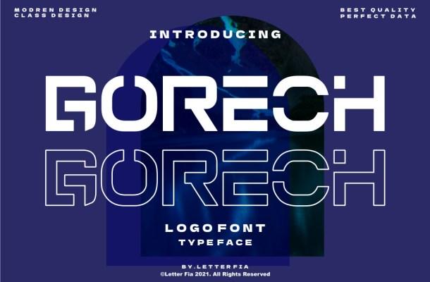 Gorech Font