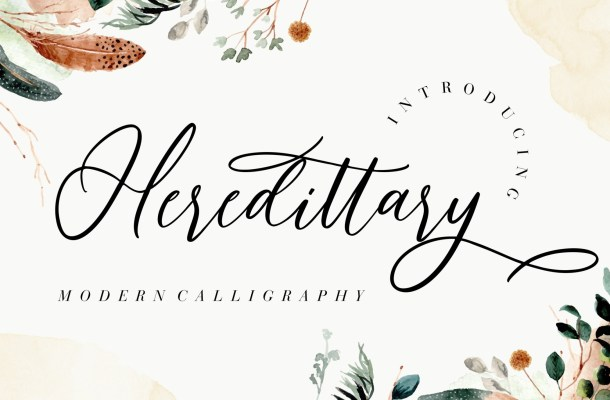 Heredittary Font