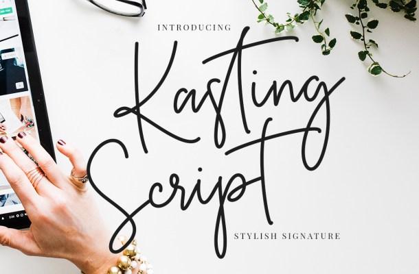 Kasting Script Font