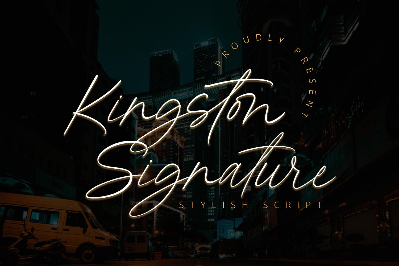 Kingston-Font