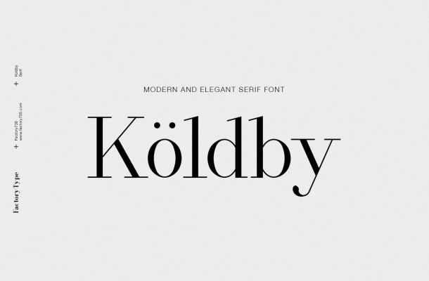 Koldby Font Family