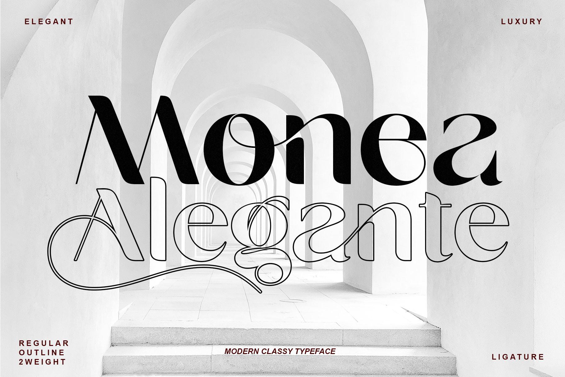 Monea-Alegante-Font