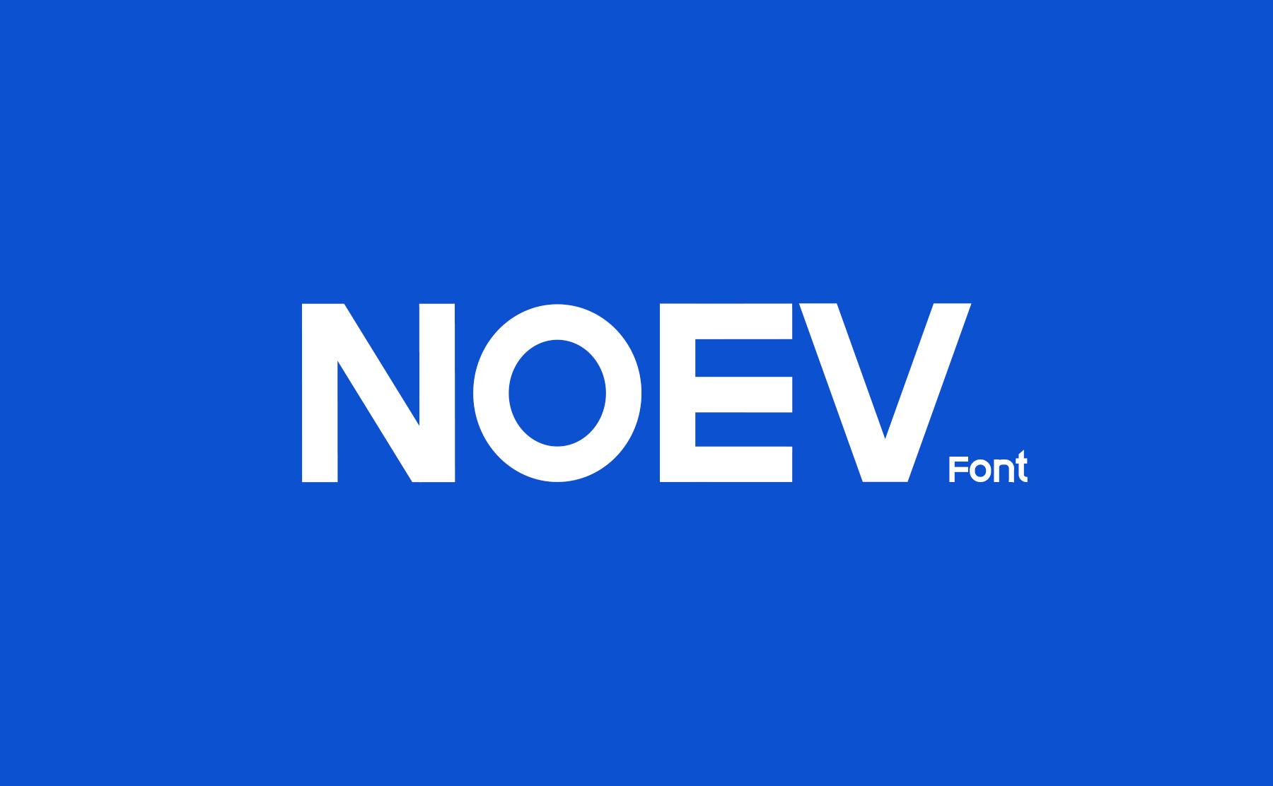 Noev-Font
