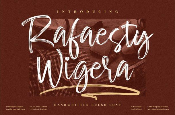 Rafaesty-Wigera-Font