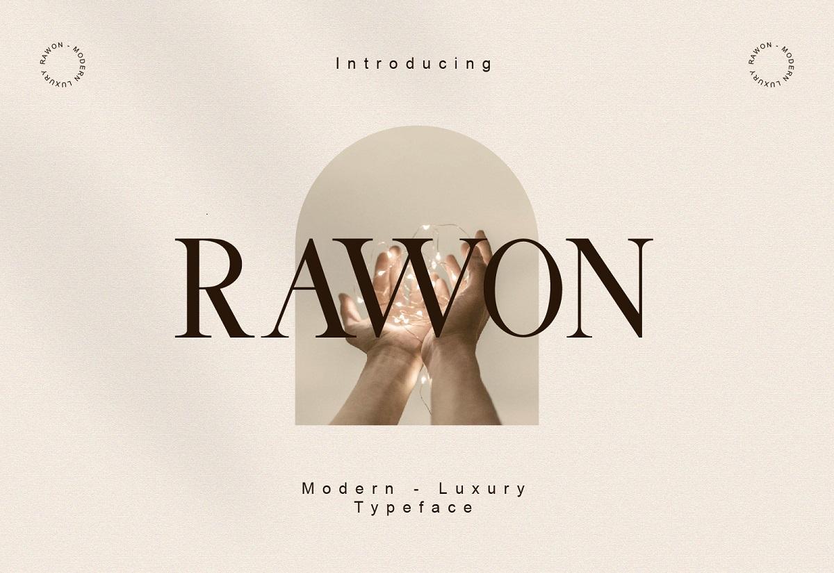 Rawon-Font