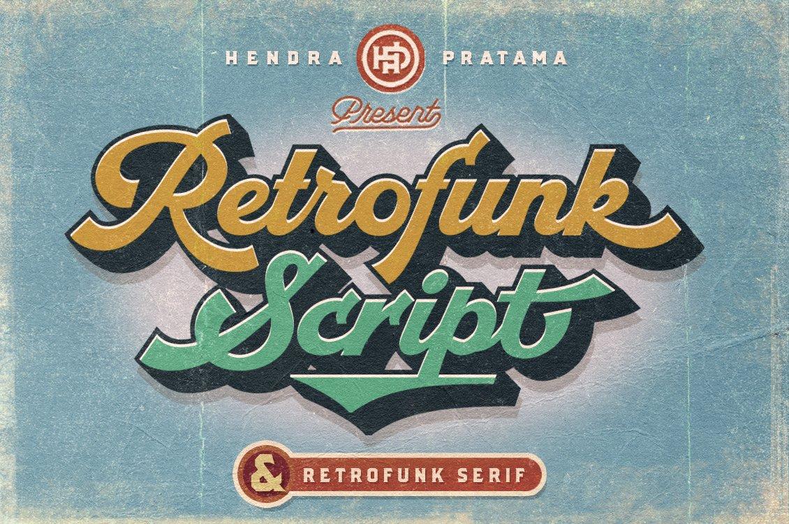 Retrofunk-Font