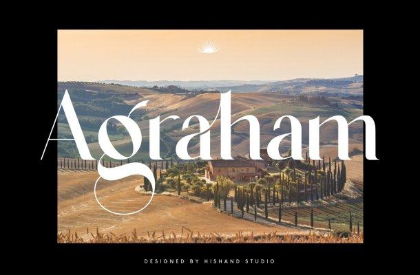 Agraham Font
