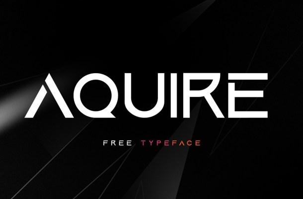 Aquire Font
