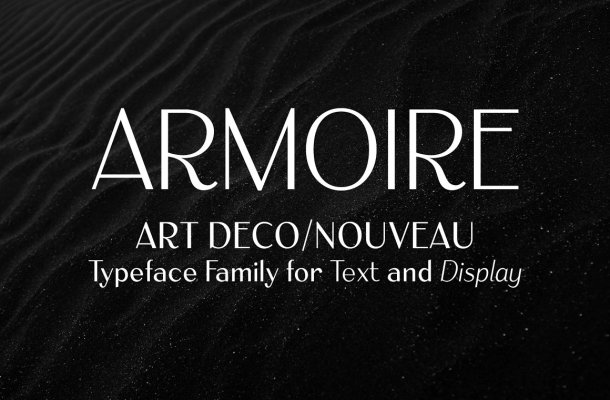 Armoire Font Family