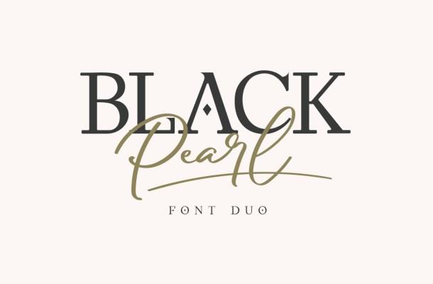 Black-Pearl-Font-Duo
