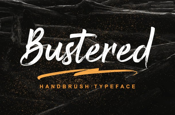 Bustered-Font