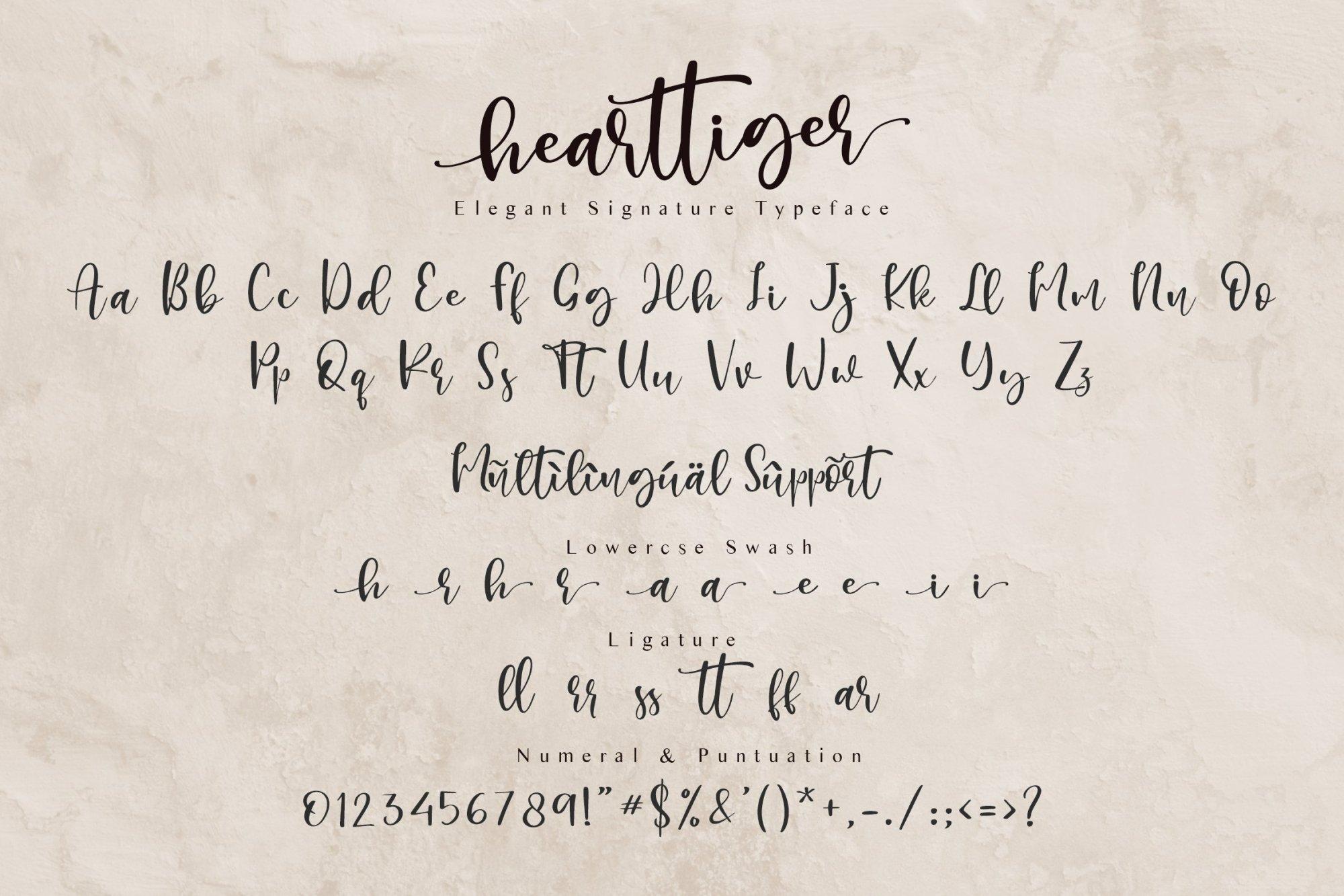 Hearttiger-Font-3