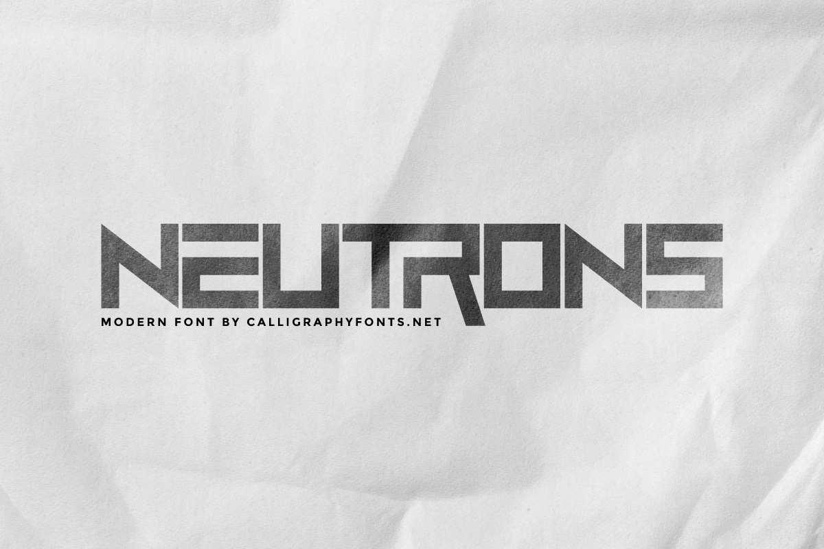 Neutrons-Font
