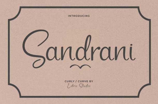 Sandrani Font