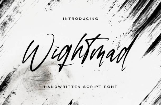 Wightmad Font