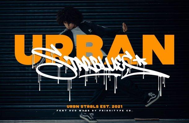 Urban Starblues Font Duo