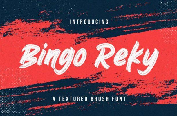 Bingo Reky Font