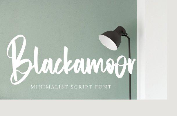 Blackamoor Font