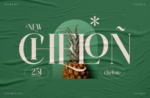 Chelon Font